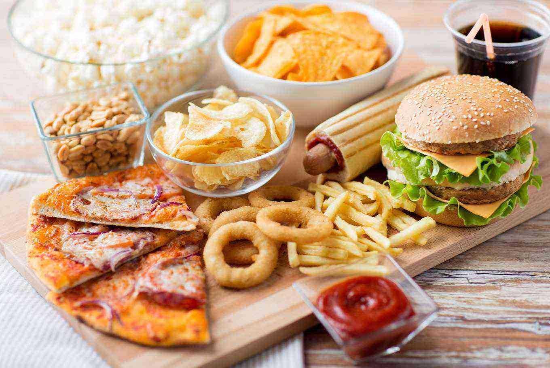 Fast Food  / Burger & Pizza / Coffee & Tea / Ice Cream