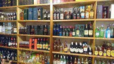 Liquor/Wine/Whisky/Champagne Store